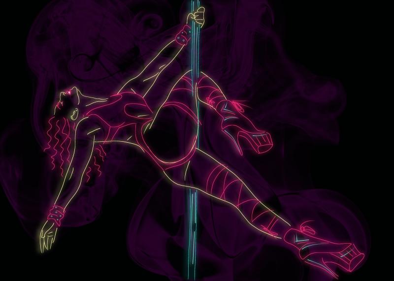Sensual Exotic Poledancer Queen V