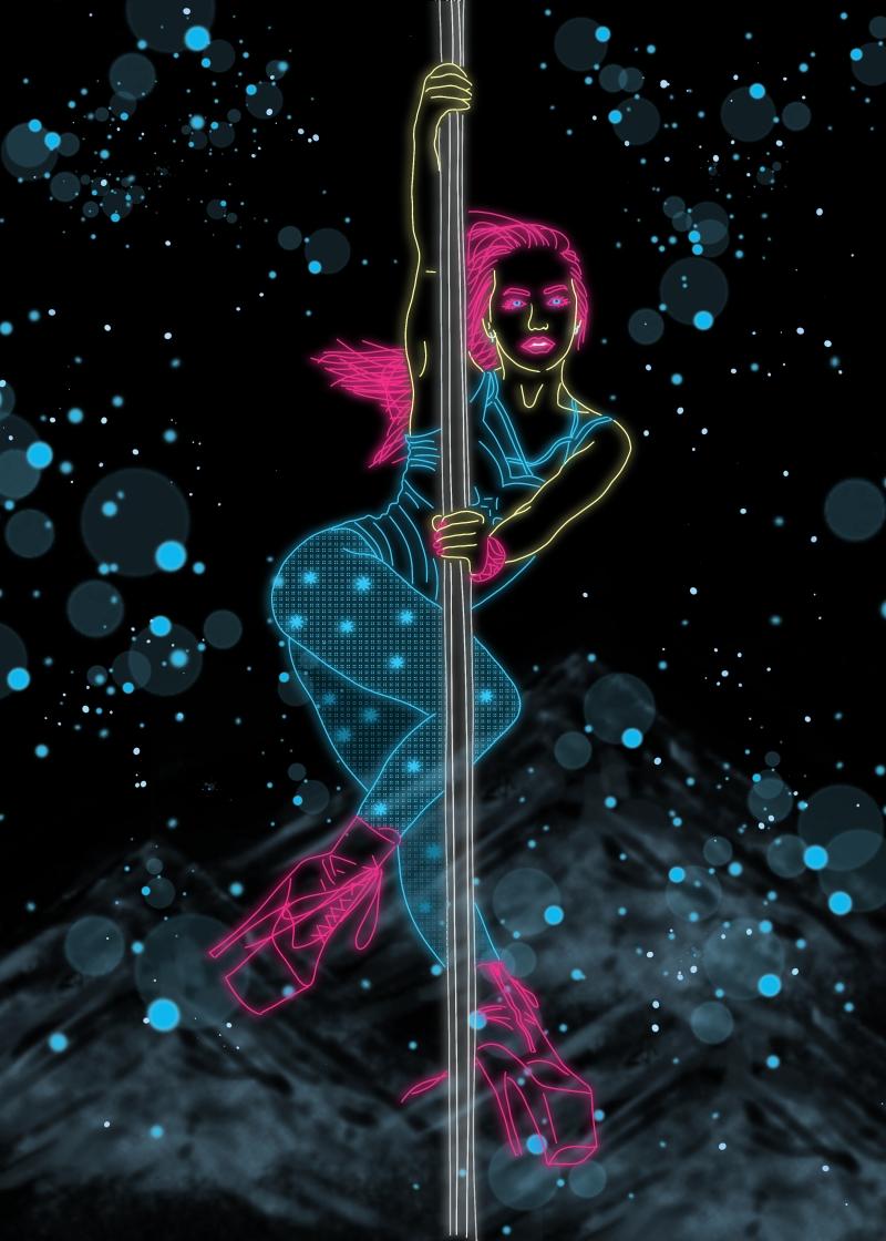 Exotic Poledancer Nina kozub
